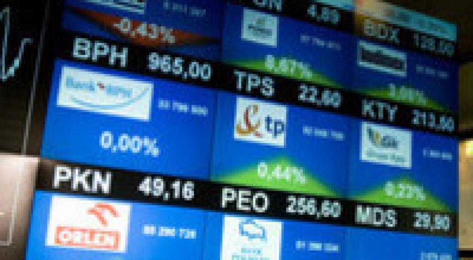 Spadki na rynkach akcji