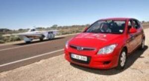 Hyundai i30 wygrał w australijskim wyścigu World Solar Challenge