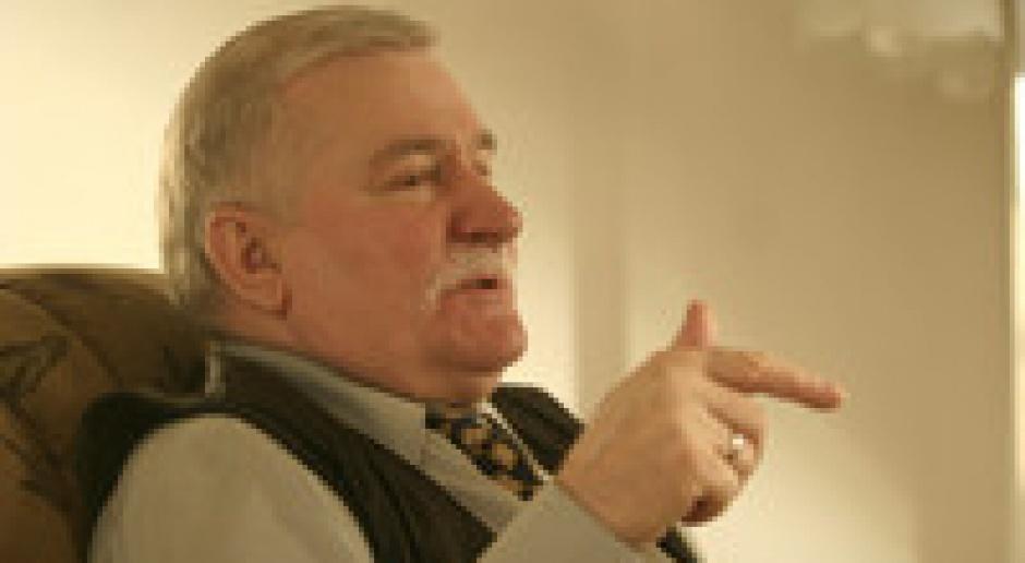 Wałęsa: Tusk wybrał koncepcję ugody i miękkiego serca