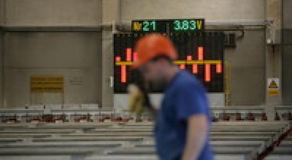 Spadek produkcji przemysłowej w strefie euro
