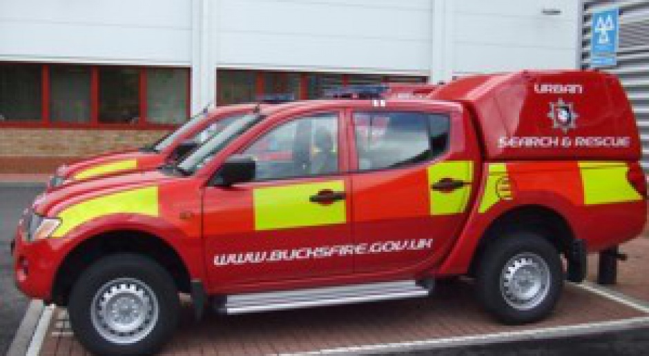L200 jako wóz strażacki