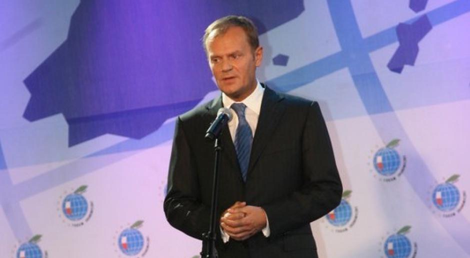 Tusk: Wejście do strefy euro w 2012 r. pozostaje w mocy