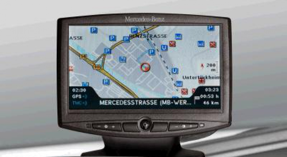 Mercedes ma nawigację do swoich ciężarówek