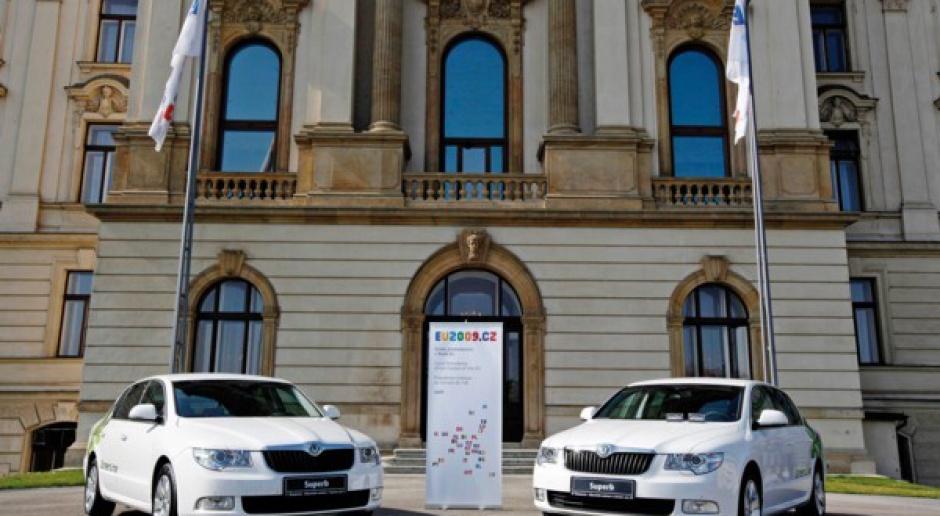Czeska prezydencja w czeskich samochodach