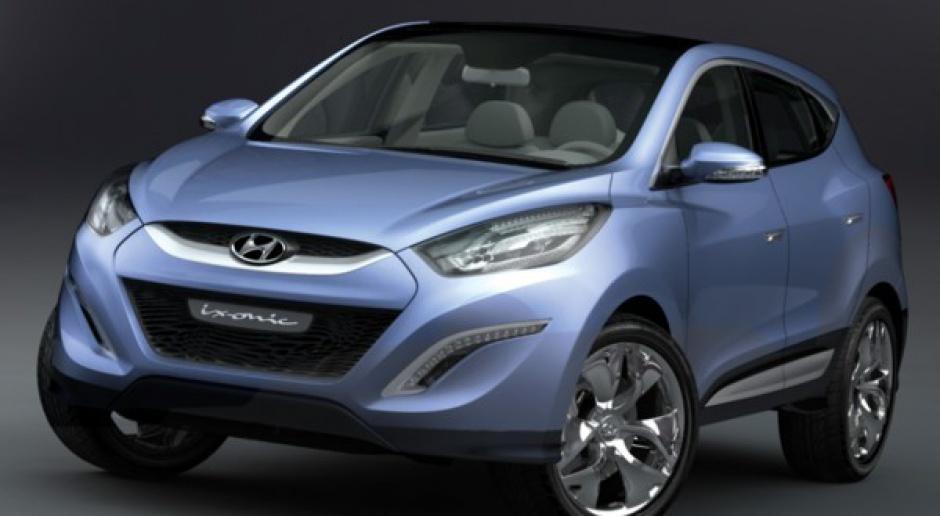 Koncepcyjny Hyundai ix-onic na wystawie w Warszawie.