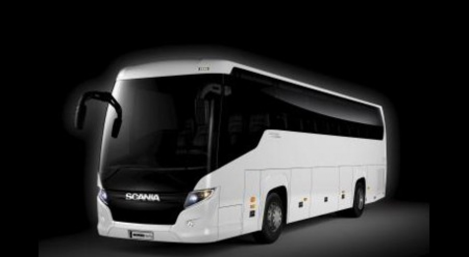 Autobus Scania made in China