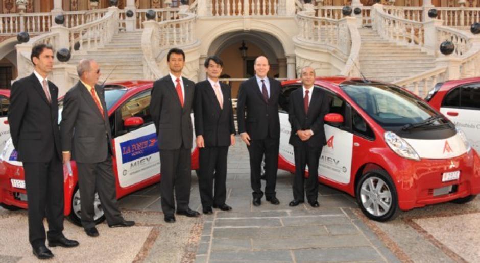 Elektryczne Mitsubishi dla Księstwa Monako