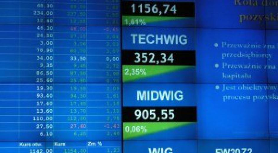 WIG20 spadł o prawie 1,5%, głównie z powodu KGHM