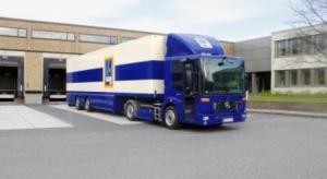 Ciężarowy Mercedes na gaz rozpoczął służbę w ALDI