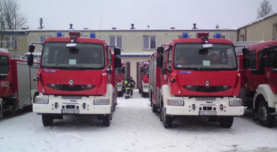 Nowe wozy bojowe dla śląskich strażaków