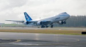 Boeing 747-8 Freighter pomyślnie zakończył swój pierwszy lot