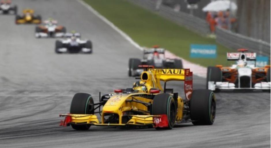 Kubica czwarty w GP Malezji
