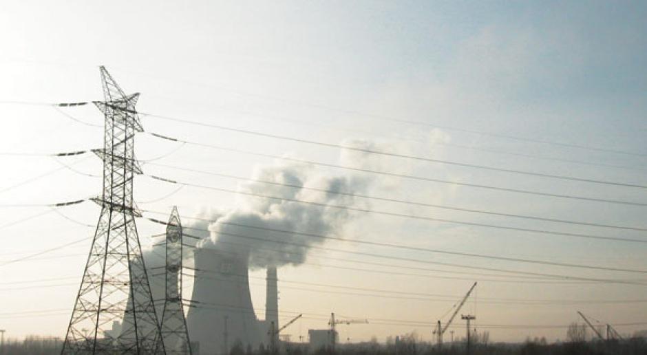 Ciemne chmury nad węglem