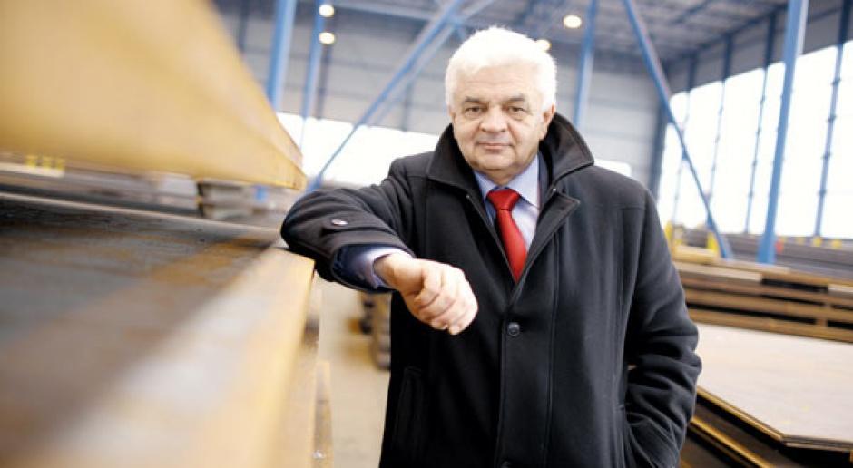 Prezes Stalprofilu - ostrożność i konsekwnecja przede wszystkim