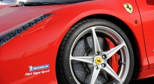 Michelin dla czteronapędowego Ferrari