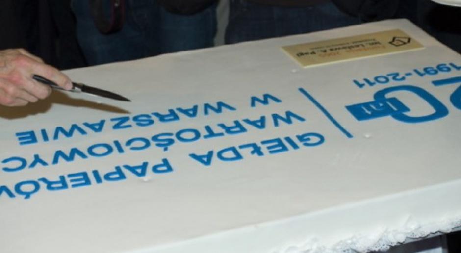 20-lecie Giełdy Papierów Wartościowych