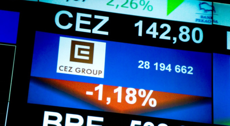 Pogorszenie wyników finansowych CEZ
