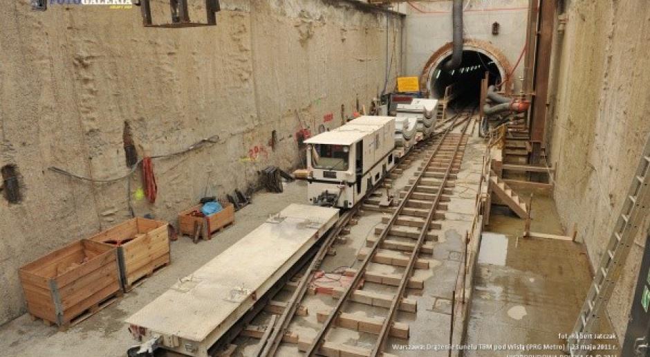 Zakończyło się drążenie tunelu pod Wisłą w Warszawie