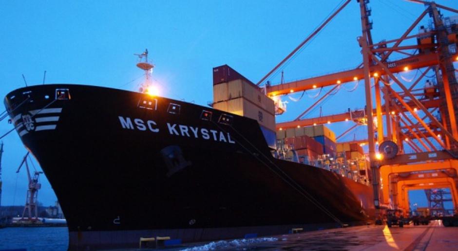 Największy kontenerowiec w historii Portu Gdynia