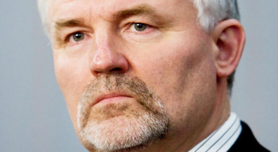 Ryszard Zbrzyzny, przewodniczący Związku Zawodowego Pracowników Przemysłu Miedziowego
