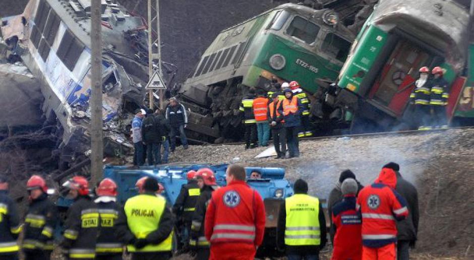 Pierwsze wnioski i zalecenia po wypadku kolejowym pod Szczekocinami