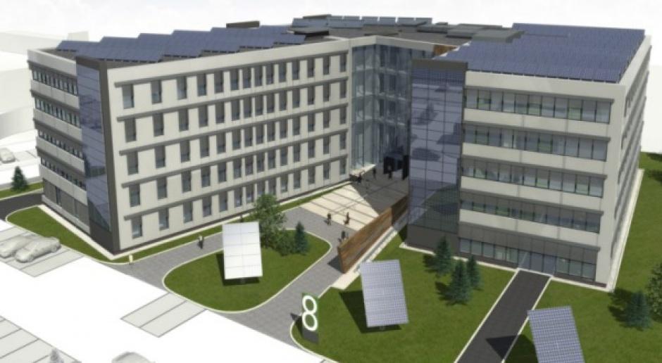 Katowicki park Euro-Centrum buduje biurowiec pasywny