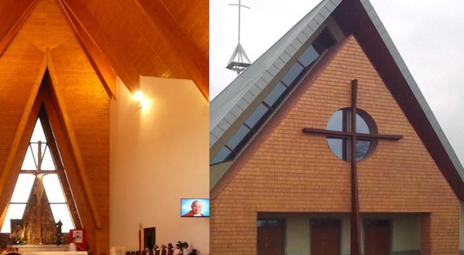Pierwszy w Europie energooszczędny kościół powstał w Nowym Targu