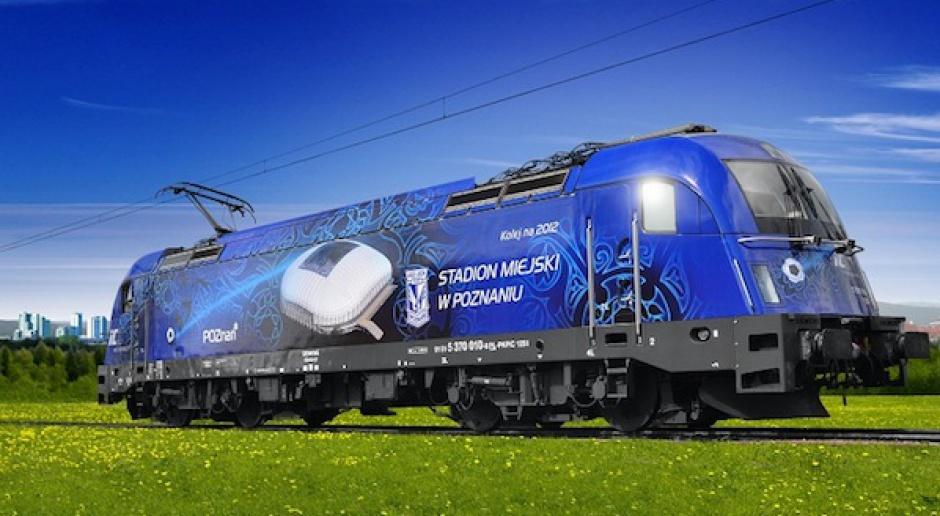 Najpiękniejsza Euro-lokomotywa z Poznaniem