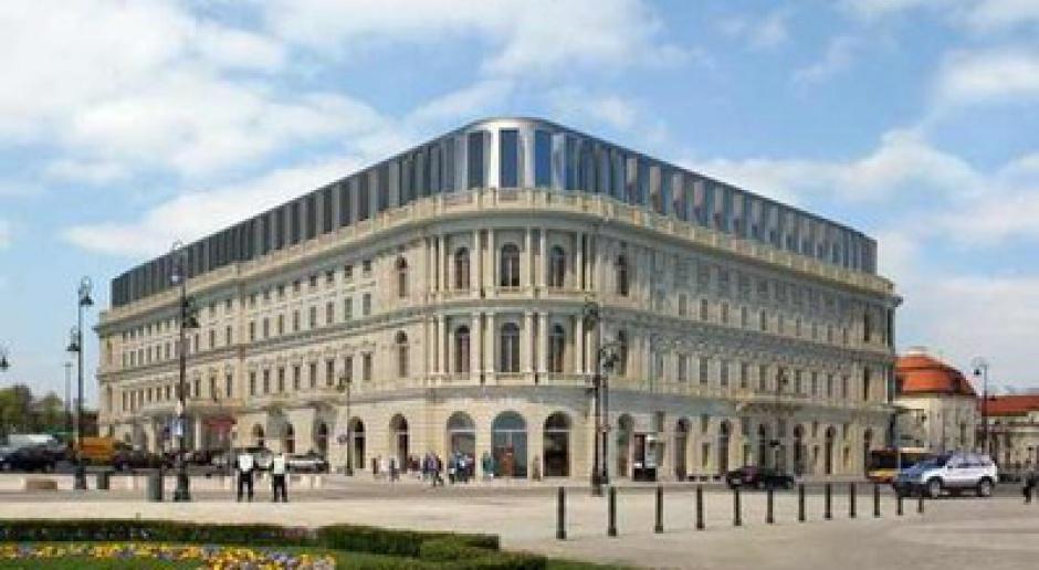 Hotel Europejski w Warszawie: remont za 65 mln euro