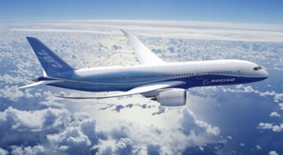 "B787 Dreamliner to ""elektryczny samolot"""