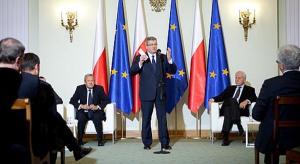 Polskie ścieżki wzrostu - debata u prezydenta