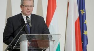 Prezydent Komorowski o polsko-węgierskiej przyjaźni