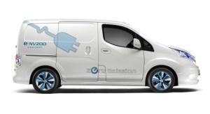 Elektryczny Nissan testowany przez FedEx Express