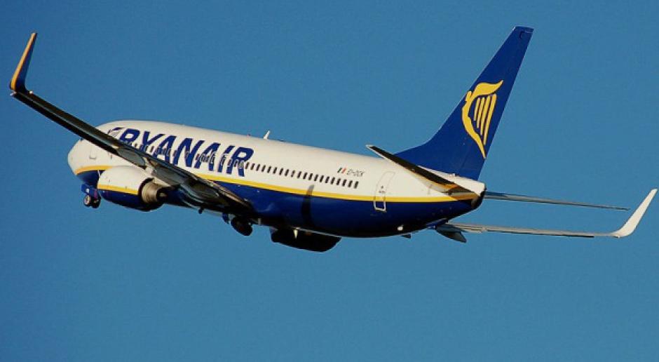 Ryanair dominuje na polskim niebie, drugi - PLL LOT