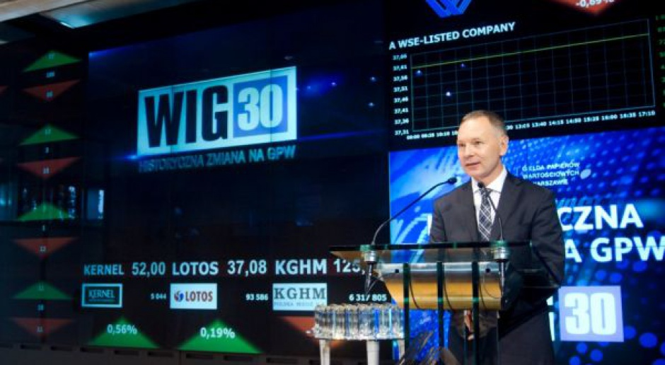 Start WIG 30 na GPW - historyczny i symboliczny