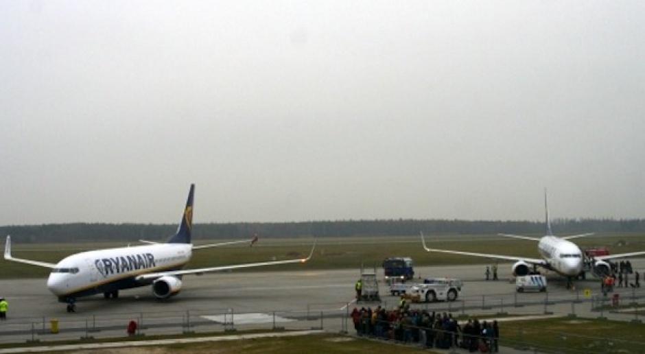 80 tys. pasażerów Ryanaira z Modlina