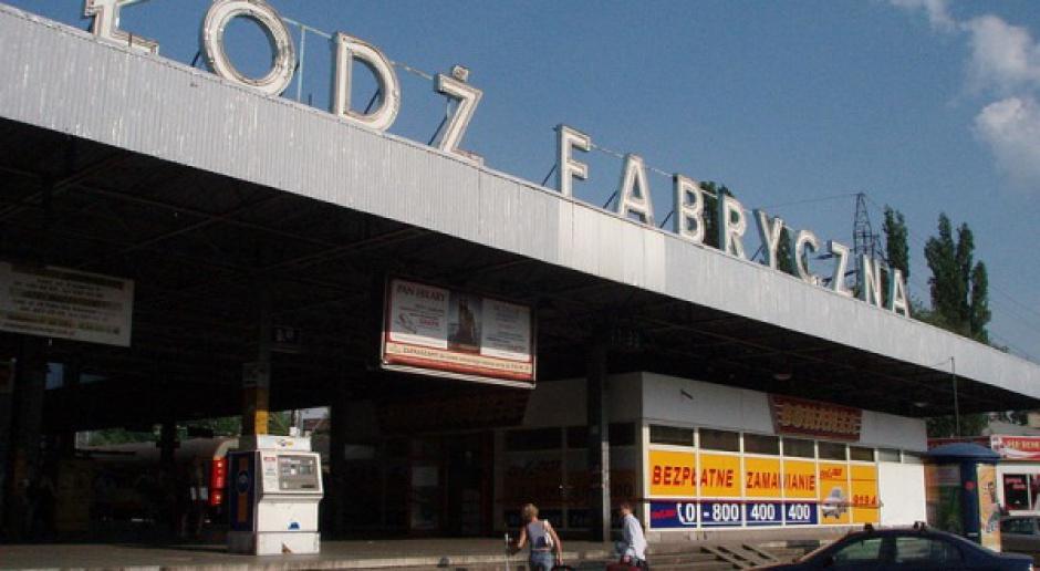 Rozpoczęto budowę tunelu do dworca Łódź Fabryczna