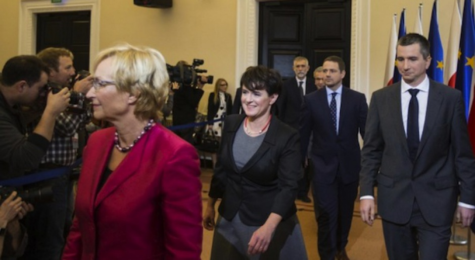 Nowi ministrowie w rządzie Donalda Tuska
