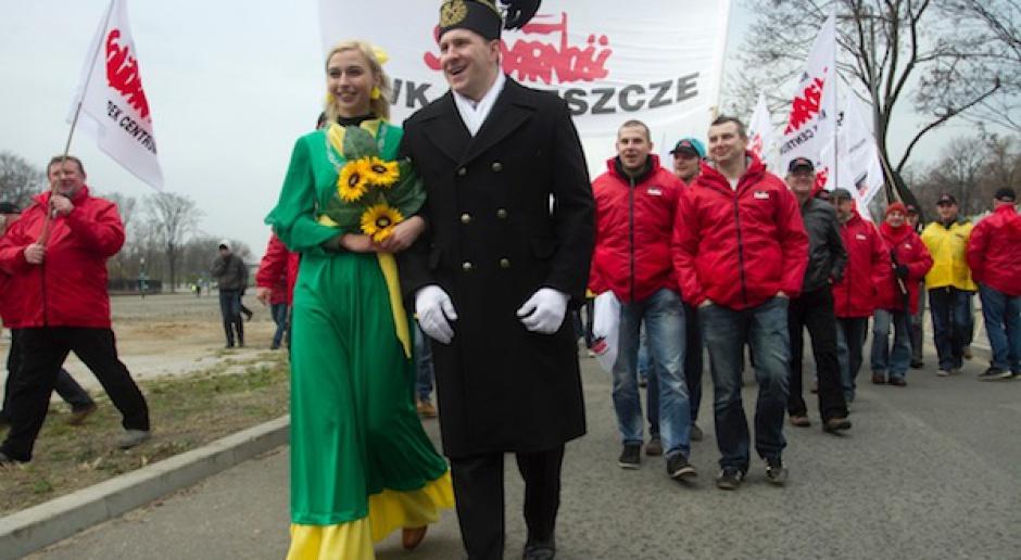 Miasteczko Węglowe Solidarności przeciw Greenpeace