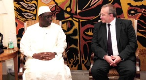 Prezes ZCh Police z wizytą u prezydenta Senegalu
