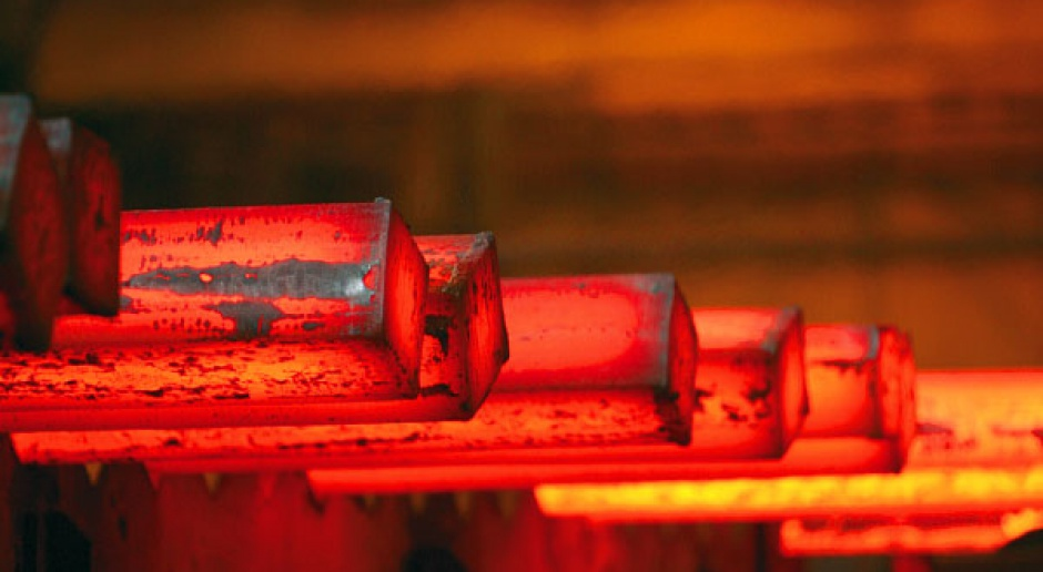 Produkcja stali na świecie powoli rośnie