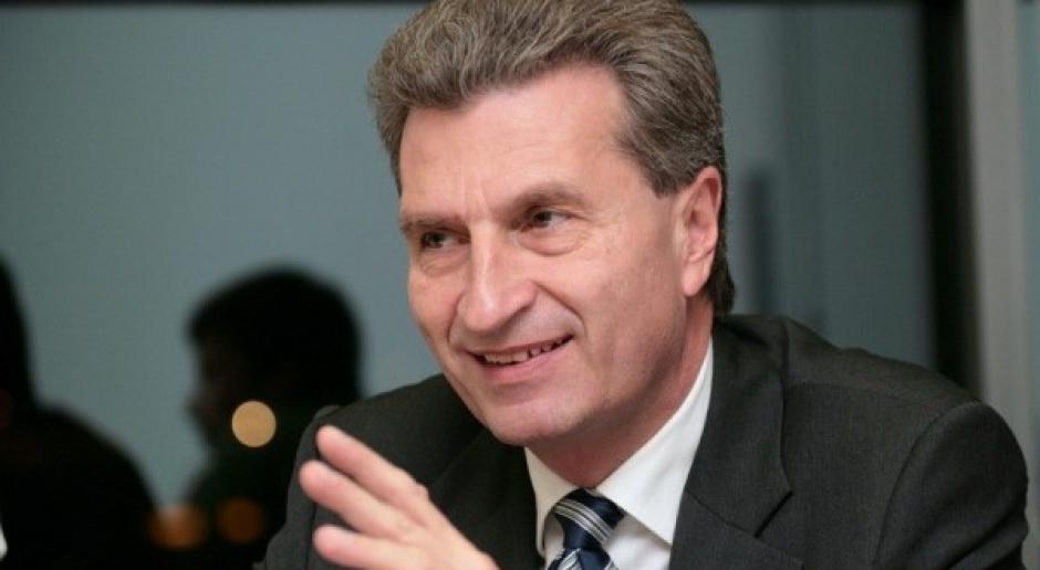 Oettinger: mniejsza zależność od dostaw energii unijnym priorytetem