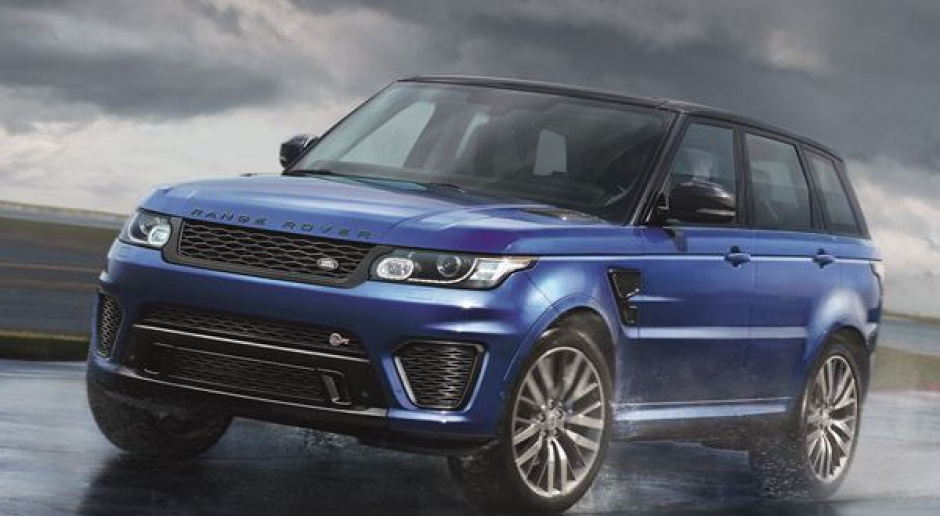 Najszybszy i najmocniejszy: Range Rover Sport SVR