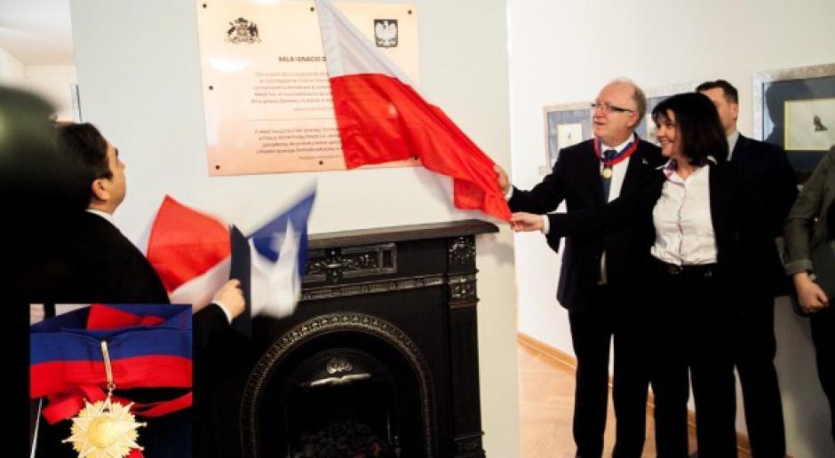 Prezes KGHM wyróżniony wysokim chilijskim orderem