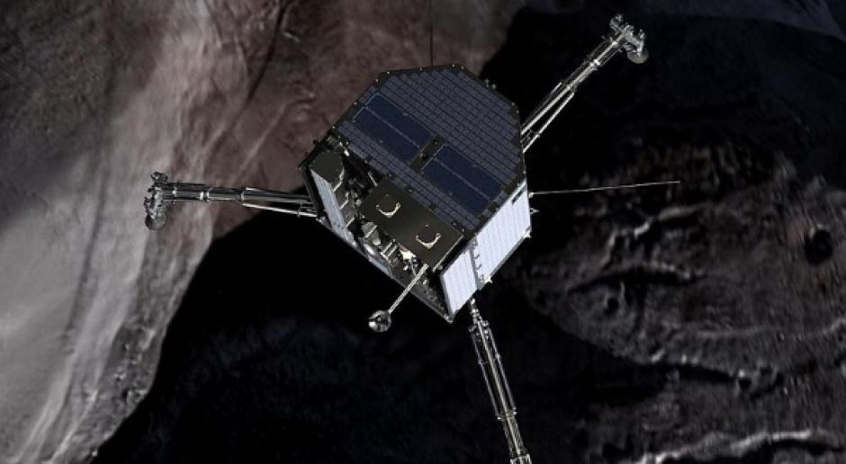 Lądownik europejskiego próbnika kosmicznego osiadł na komecie