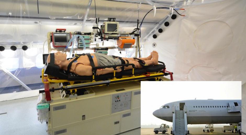 Niemcy mają specjalny samolot do przewożenia chorych na ebolę