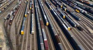 Przewozy kolejowe towarów najmniejsze od czasu kryzysu