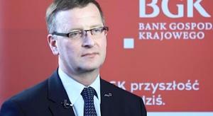Prezes BGK: pomożemy firmom skorzystać z nowych funduszy unijnych