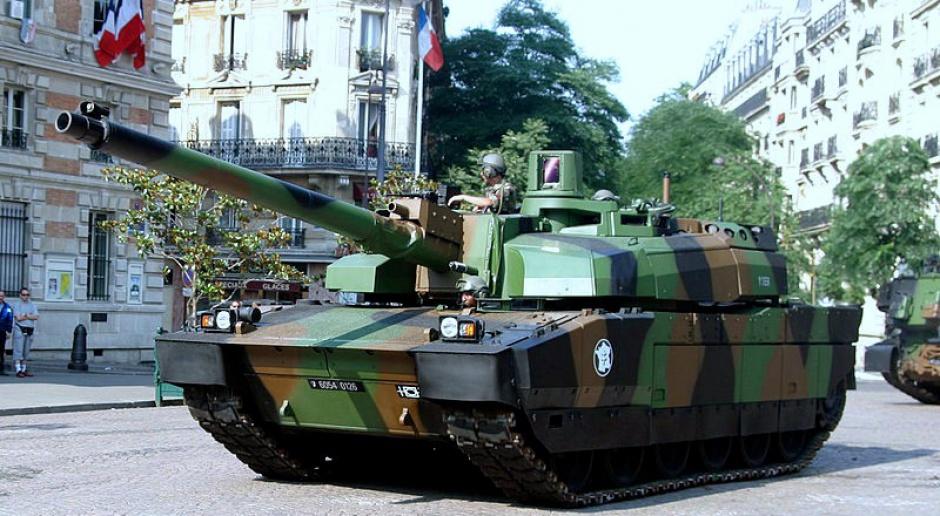 Wkrótce do Polski po raz pierwszy przyjadą francuskie czołgi Leclerc
