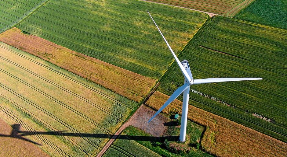Kolejka do energii z wiatru